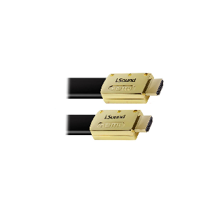 Isound cable 1.8m hdmi male to hdmi male flat _6815
