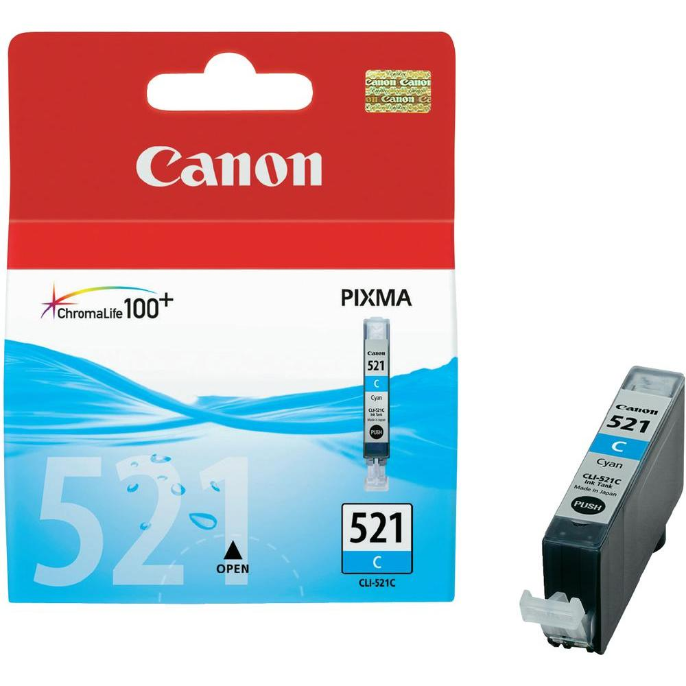 Canon Original Ink 521 cyan