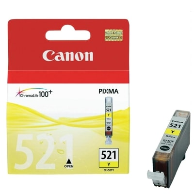 Canon Original Ink 521 yellow