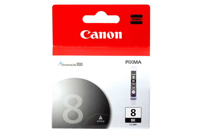 Canon ink cli-8bk black