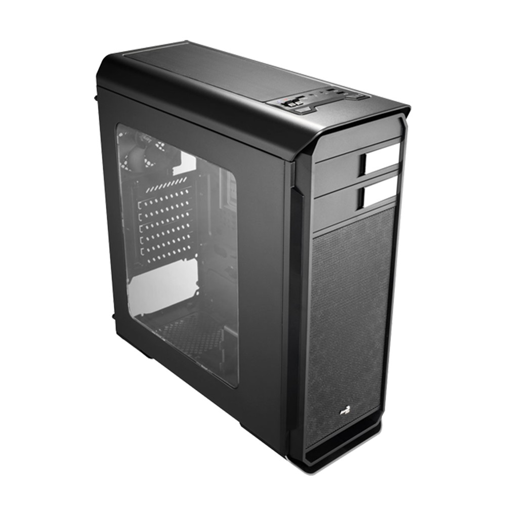 Aero cool case 500 black mid tower _500