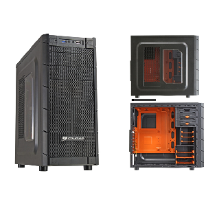 Cougar Case archon mid tower case no power _archon