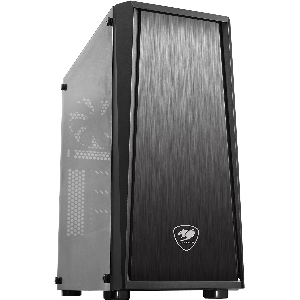 Cougar case mx340 middle tower with tempered glass _mx340