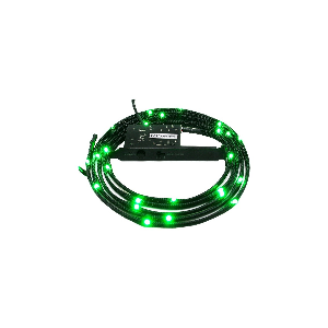 Nzxt internal sleeved led lighting kit green 2m _cb-led20-gr