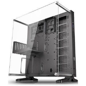 ThermalTake Case core p5 wall mount chassis  mid tower _ca1e700m1wn00