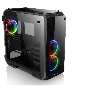 Thermaltake case view 71 tg rgb swing door glass full tower _ca-117-00f1wn-01