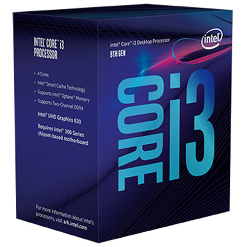 Intel cpu core i3-8100 3.6 ghz lga 1151 6mb cache _8100