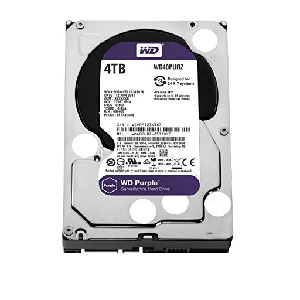 western digital hard disk 4 terra storage purple _wd40purz