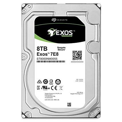 Seagate harddisk 8 terra enterprise exos 5e8 sata _st8000as0003