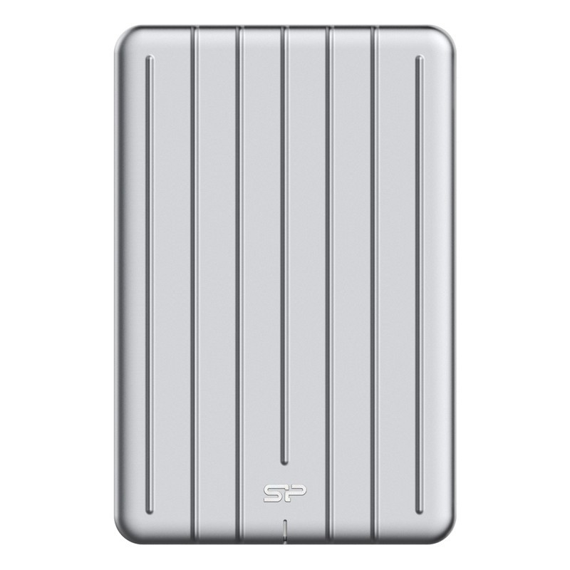 Sp external hard disk 1tb silver armor a75 shockproof slim 3.1 _tbphda75s3s
