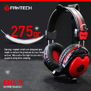 Fantech headset gaming hg5 shaco with mic _hg5