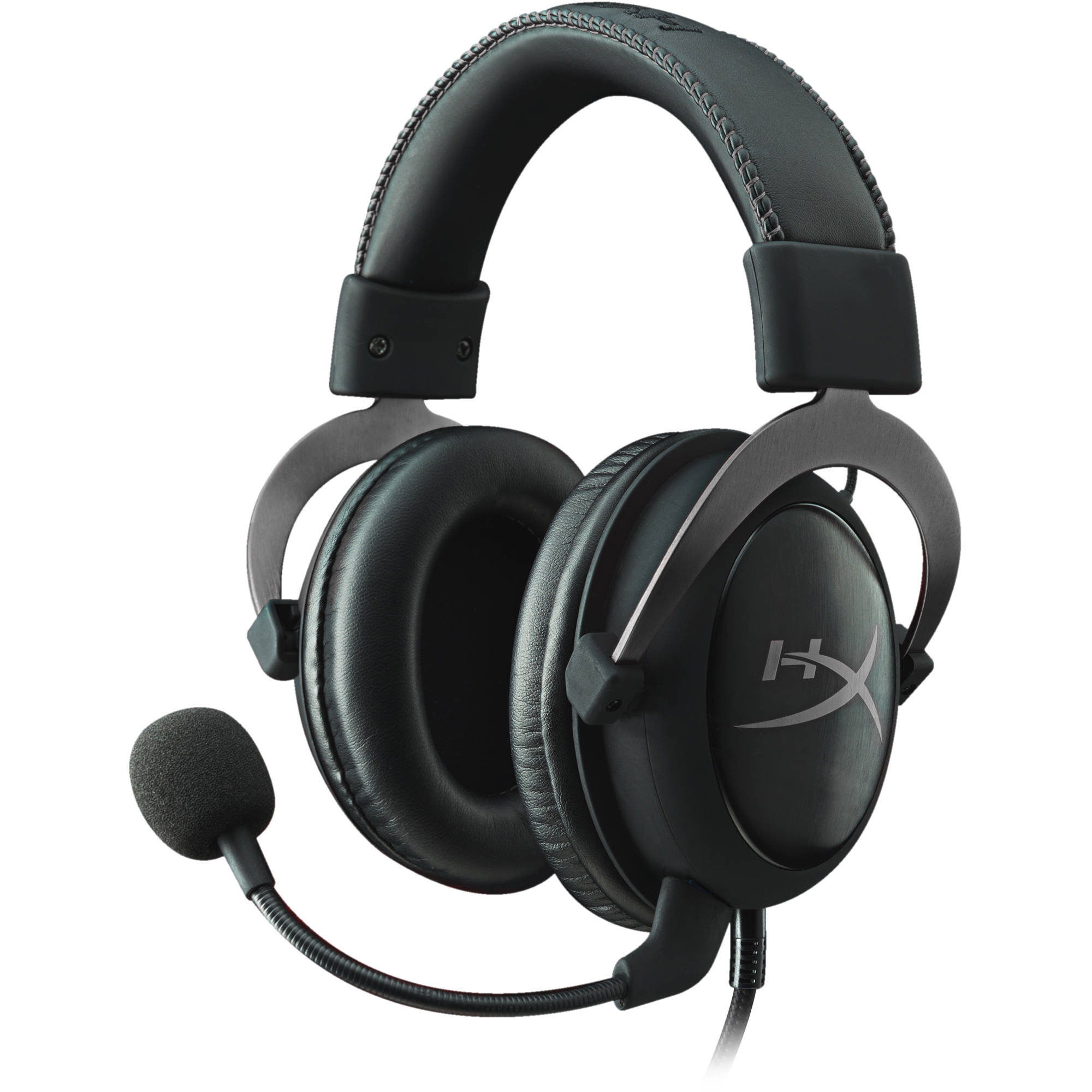 hyperx cloud II pro gaming headset with  mic 7.1 surround gun metal _khx-hscp-gm
