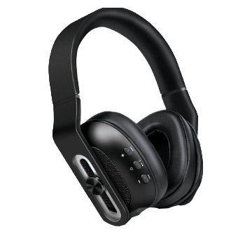 Isound headphone bt-2700 wireless bluetooth with mic black _5636