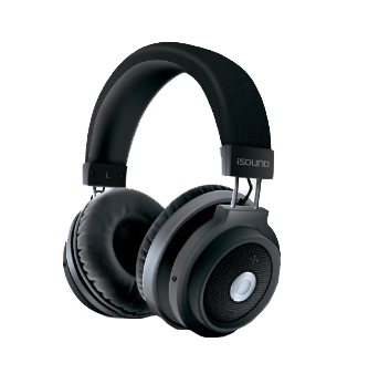 Isound headphone wireless blutooth bt-2800 with touch controls  _5623