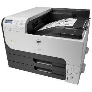 Speed 20ppm A3/40ppm A4  Res 1200x1200dpi  800mhz processor  512MB memory  Duplex  Network  3 paper trays (2x input trays; 1x multipurpose tray) E-print  Airprint  Duty cycle 100 000 pages  USB2.0 supplies: CF214A