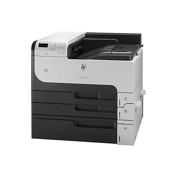 Speed 20ppm A3/40ppm A4  Res 1200x1200dpi  800mhz processor  512MB memory  Duplex  Network  Standard  High-Performance Secure Hard Disk  250 GB  4 paper trays (3x input trays; 1x multipurpose tray) E-print  Airprint  Duty cycle 100 000 pages  USB2.0 supplies: CF214A