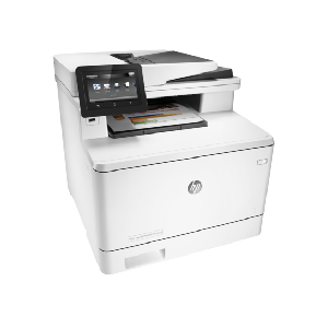 4in1  print  scan  copy  fax  Speed 28ppm Black & Color  Print res 600dpi  Scan res 1200dpi  1200MHz processor  256MB Memory  4.3-in intuitive color touchscreen (CGD)  Flatbed  ADF  Network  Wireless  E-Print  Airprint  USB2.0  Duty Cycle 50 000 pages supplies: CF410A / CF411A / CF412A / CF413A