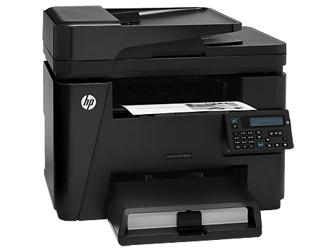 4in1  print  scan  copy  fax  Speed 26ppm  Res 600x600dpi  600MHz processor  256MB Memory  ADF  Duplex  Network  E-Print  Airprint  USB2.0  Duty cycle 8 000pages Supplies : CF283A
