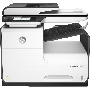 4in1 Print- Scan- Copy- Fax- Digital send- speed 40ppm Black/Color- Res 1200x1200dpi Black/ 2400x1200dpi Color - E-print- Airprint- Network- Wireless- Duplex- Memory 768MB- 10.92 cm (4.3) CGD (Colour Graphic Display)- IR touchscreen- ADF- USB2.0- Duty Cycle 50-000 pages  Supplies : 913 Black / Color 913 Color