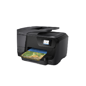 "4in1 Print- Scan- Copy- Fax- speed 31ppm Black/color- Res 4800x1200dpi- Network- 128MB Memory- Duplex- Wireless- Front-facing USB printing- E-Print- Airprint- 2.65"" (6.75 cm) CGD touchscreen- ADF- USB2.0- Duty Cycle 30-000 pages  Supplies : 953 Black"