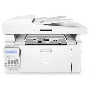 4in1  print  scan  copy  fax  Speed 22ppm  Res 1200dpi  600MHz processor  128MB Memory  Flatbed  ADF  USB 2.0  Network  Duty cycle 10 000pages supplies: CF217A