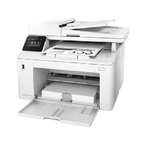 4in1  print  scan  copy  fax  Speed 28ppm  Res 1200x1200dpi  600MHz processor  256MB Memory  ADF  Duplex  Network  Wireless  E-Print  Airprint  USB2.0  Duty cycle 30 000pages supplies: CF230A