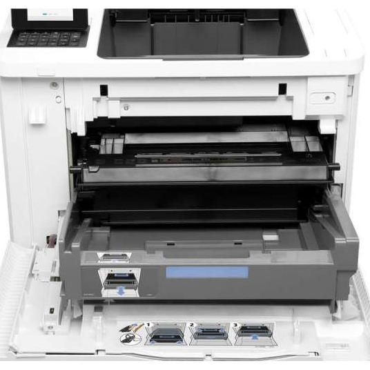 Speed 52ppm  Res 1200x1200dpi  1.2GHz proceesor  512MB Memory  Network  E-print  Airprint  USB2.0  Duty Cycle 250 000 pages supplies: CF237A