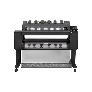 6 separate inks- Res up to 2400x1200dpi- Media handling: automatic front-loading roll feed- sheet feed- automatic cutter- Media size: A4- A3- A2- A1- A0- Network- 64GB Memory- 320GB Hard disk- E-Print  Supplies : 727