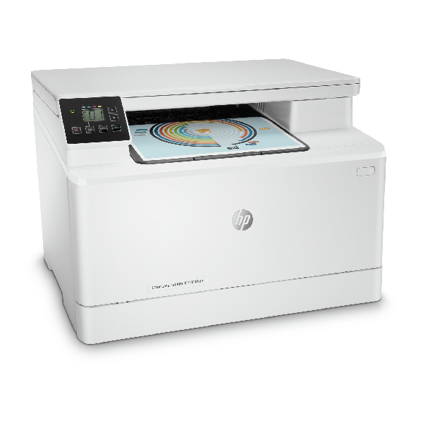 3in1  print  scan  Speed 16ppm Black/Color  Print Res 600pi  scan Res 1200dpi  800MHz processor  256MB Memory  Flatbed  Network  E-Print  Airprint  USB2.0  Duty Cycle 30 000 pages supplies: CF530A / CF531A / CF532A / CF533A
