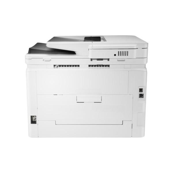 3in1  Print  scan  Speed 21ppm Black/Color  Print Res 600dpi  scan Res 1200dpi  800MHz processor  256MB Memory  Flatbed  ADF  Wireless  Network  E-Print  Airprint  USB2.0  Duty Cycle 40 000 pages supplies: CF540A / CF541A / CF542A / CF543A