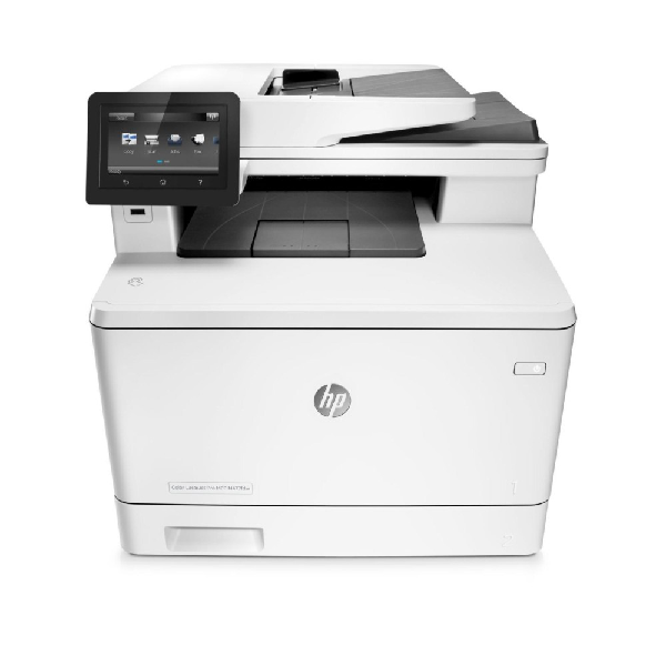 4in1  Print  scan  copy  Speed 21ppm Black/Color  Print Res 600dpi  scan Res 1200dpi  800MHz processor  256MB Memory  Flatbed  ADF  Wireless  Network  E-Print  Airprint  USB2.0  Duty Cycle 40 000 pages supplies: CF540A / CF541A / CF542A / CF543A