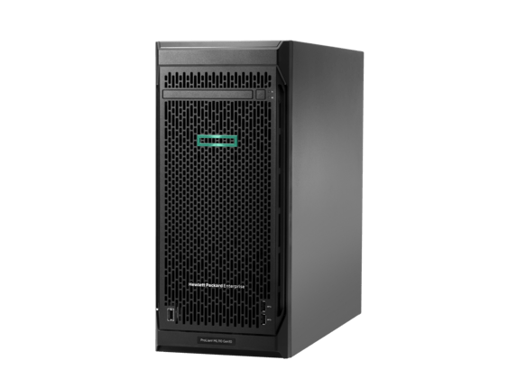 E ProLiant ML110 Gen10<br />  3104 1P 8GB-R S100i <br /> 4LFF N  SATA 350W PS <br /> DVD Entry Server/TV