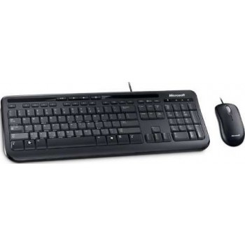 Microsoft wired desktop 600 keyboard and mouse usb _3j2-00009