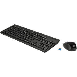 Hp wireless keyboard and mouse 200 english layout _z3q63aa