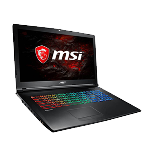 Msi laptop gp72m 7rex i7 7700 16gb 256gb 1tb 1050ti 17. win10  _9s7-1799d3-1254
