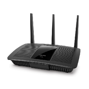 EA7500 Max-Stream™ AC1900 MU-MIMO Gigabit Router  • Up to 1.9 Gbps Wi-Fi speeds • 1.4 GHz DUAL-CORE CENTRAL PROCESSING UNIT (CPU)  • Delivers up to 2x the speed of non MU-MIMO routers • 3 Adjustable Antennas • Smart Wi-Fi App • Dual-Band (5 GHz + 2.4 GHz)   • USB 3.0 Port