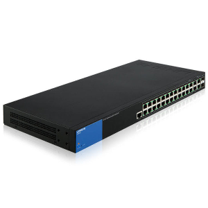 Managed Switches (Rack mounted) 24-port 10/100/1000 POE+ (192W)