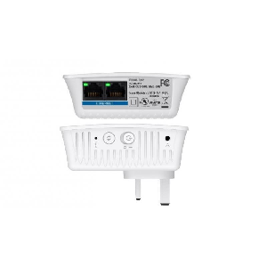 RE4100W  WIFI &Audio RANGE EXTENDER DB N600 • CROSS-BAND TECHNOLOGY • Spot Finder Technology • SIMULTANEOUS DUAL BAND (2.4 + 5 GHz) • FAST ETHERNET PORT