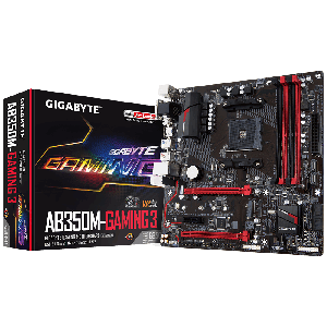 Gigabyte motherboard ab350m-gaming 3 socket amd am4 _ga-ab350m-gaming3