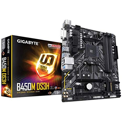 Gigabyte motherboard b450m ds3h ultra for ryzen hdmi dvi _b450mds3h