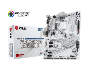 Msi motherboard b360 gaming arctic ddr4 m.2 dvi dp _911-7b22-011