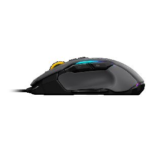 Roccat mouse gaming kone aimo speed of light 12000dpi gray _roc-11-815-gy