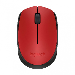 Logitech Wireless mouse M171 red _910-004641