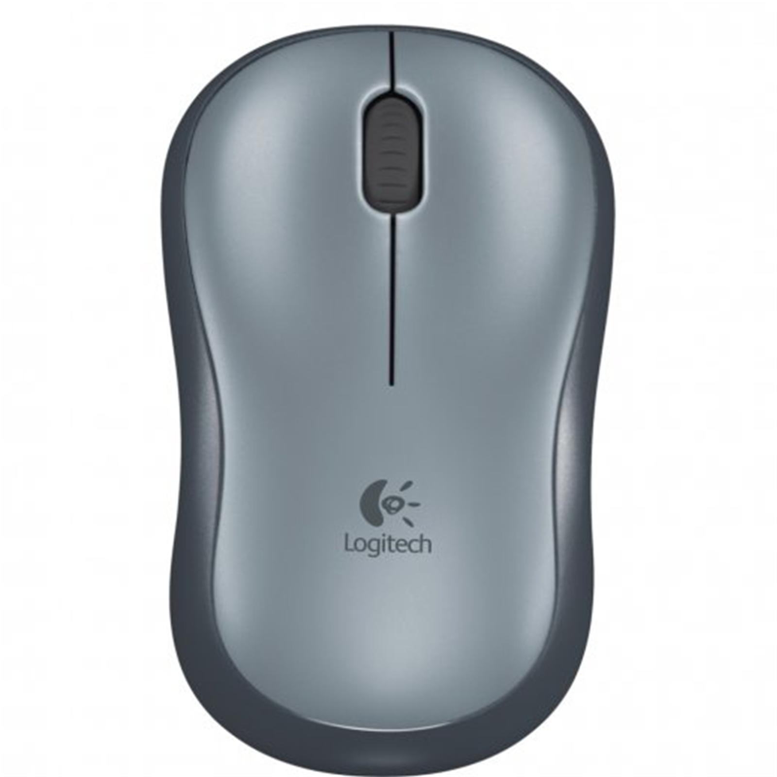 Logitech Wireless mouse m185 black with nano receiver _910002235
