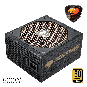 Cougar power supply 750w compact psu gold _cgrgs-750