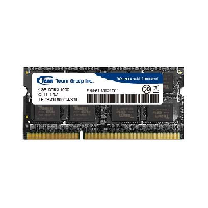 Team ram laptop elite ddr3 8gb 1333mhz 1.5v _ted38g1333c9-sbk