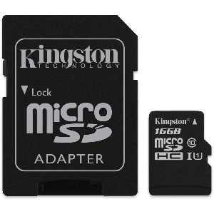 Kingston memory micro sd card 128gb with adapter class 10 _sdcs/128gb