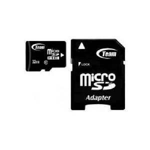 Team micro sd hc 32gb class 10 with adapter _tusdh32gcl1003