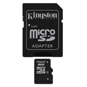 Kingston micro sd Memory Card 8gb with adapter sd _sdc48gb