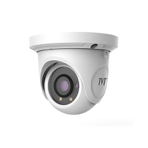 TVT 4M VANDAL DOME CAMERA 3.6MM FIXE LENS POE IR 15-20M
